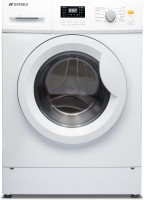 Sansui 6.5 kg Fully Automatic Front Load with In-built Heater White(SIFL65BW)
