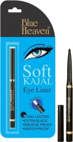Blue Heaven Cosmetics Soft Kajal Eyeliner (Black) 0.31 g (Black)