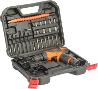 Buildskill 12V Li-ion Cordless Drill with Reversible Function with 27 pieces Power & Hand Tool Kit(27 Tools)