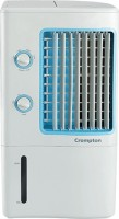 CROMPTON 7 L Room/Personal Air Cooler(White, Ginie Pac-07)
