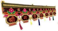 Navrang New Door Hanging Fancy Bandarwal Diwali Toran(Velvet)