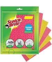 Scotch-Brite Sponge Wipes(Multicolor)