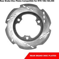 DESIKARTZ Rear Brake Disc Plates Compatible for Models (Rear) Vehicle Disc Pad(Pack of 1)