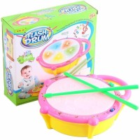 RISING BABY Kids Drum Set, Drum Set for Kids Electric Toys Toddler Musical Instruments Playset Flash Light Toy with Disco music, Color full light Toys for Boys and Girls(Multicolor)