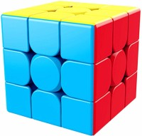 D ETERNAL MoYu MeiLong 3x3x3 High Speed Stickerless Magic Puzzle Cube Game Toy ,Multicolor(1 Pieces)