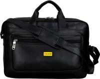 M Choice Men & Women Black Messenger Bag
