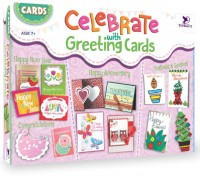 ToyKraft Card Making Kits (Celebrate with Greeting Cards) for 7 year-olds and above