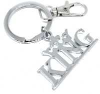 Aura Imported King Gift Key Ring For Men Boys Father Husband Brother Key Chain