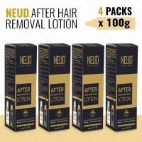 NEUD After Hair Removal Lotion for Skin Care in Men & Women – 4 Packs (100 gm each)(400 g)