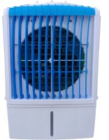 POWEREST 25 L Room/Personal Air Cooler(White, Blue, PRIMO 12'')
