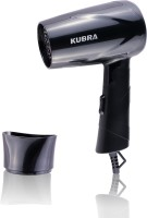 Kubra Silky Shine Hot And Cold Foldable KB-113/0 Hair Dryer(650 W, Black)