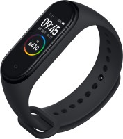 Mi Smart Band 4(Black Strap, Size : Regular)