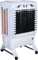 Maharani whiteline 50 L Room/Personal Air Cooler(White, Grey, Leo air cooler)