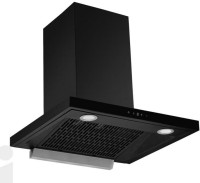 Hindware Chimney venice Heat Autoclean 60cm 1200m3 hr Stainless Steel Auto Clean Wall Mounted Chimney(Black 1200 CMH)