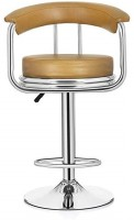 MBTC Magma Beige Leatherette Bar Chair(Finish Color - Beige)
