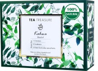 TeaTreasure Kahwa Cinnamon, Cardamom, Saffron Green Tea Box(18 Bags)