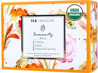 TeaTreasure Immunity Lemon Grass, Liquorice, Tulsi, Ginger, Herbs Herbal Tea Box(18 Bags)