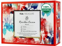 TeaTreasure Rooibos Cocoa Chocolate Herbal Tea Box(18 Bags)