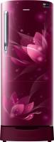 Samsung 215 L Direct Cool Single Door 3 Star (2020) Refrigerator with Base Drawer(SAFFRON RED, RR22T383YR8/HL) (Samsung) Tamil Nadu Buy Online