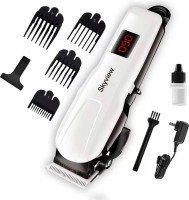 Skyview Professional Rechargeable and Cordless KM-809 / NHT 1083 Hair Clipper  Runtime: 120 min Trimmer for Men(White)