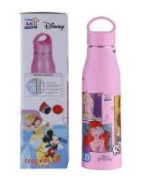 SKI 5299 550 ml Water Bottle(Set of 1, Pink)
