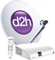 d2h SD Set Top Box 1 Month Gold Gujarati Combo Pack