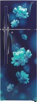 LG 308 L Frost Free Double Door 2 Star Refrigerator (GL T322RBCY, Blue Charm)