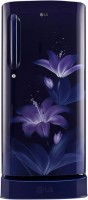 LG 190 L Direct Cool Single Door 4 Star (2020) Refrigerator with Base Drawer(Blue Glow, GL-D201ABGY) (LG)  Buy Online