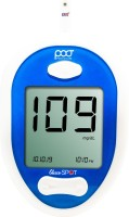 poct GLUCO SPOT GLUCOMETER WITH 25 STRIPS Glucometer(Blue, White)