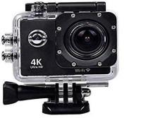 QUEZIL 1080 Action Cam, 4K Sport Camera Wi-Fi Underwater Camera Helmet Camera 170° Wide Angle Ultra HD Water Resistant Sports Action Camera Ultra Wide-Angle Lens with 2