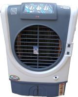 Maharani whiteline 60 L Room/Personal Air Cooler(white-blue, Racer)