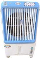 Maharani whiteline 70 L Room/Personal Air Cooler(white-blue, Geo)