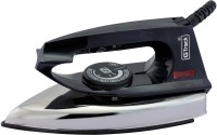 G Track Light Weight 750 W Dry Iron(Black, Silver)