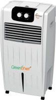 Greenchef 25 L Tower Air Cooler(White, KRISSHA Air Cooler - 25 Ltrs)