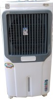 Maharani whiteline 70 L Room/Personal Air Cooler(White, Grey, air cooler)