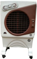 Maharani whiteline 50 L Room/Personal Air Cooler(White, Brown, air cooler)