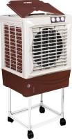 Maharani whiteline 50 L Room/Personal Air Cooler(white, marroon, x)