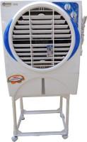 Maharani whiteline 45 L Room/Personal Air Cooler(White, blue, 16)