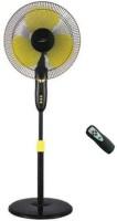V-Guard Finesta Remote 400mm 400 mm 3 Blade Pedestal Fan(Black, Yellow, Pack of 1)
