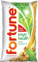 Fortune Refined Soyabean Oil Pouch(1 L)