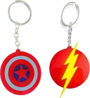 VKS Flash And Caption American Different Designs Plastic Key Chain