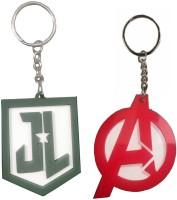 VKS Avanger And JL Different Designs Plastic Key Chain