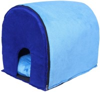 Amit Brothers Soft Pet House/Bed Light Blue Dog, Cat House