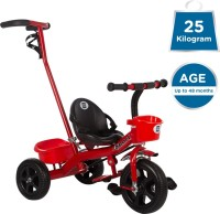 MeeMee Baby Tricycle With Push Handle (Red) Easy to Ride Baby Tricycle With Push Handle Tricycle(Red)