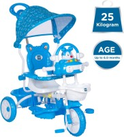 MeeMee Premium Baby Tricycle with Adjustable Seat (Blue) MM-231G Blue Tricycle(Blue)