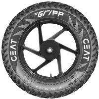 CEAT 104011 GRIPP TT 53J VENTLESS 90/100-10 Rear Tyre(Street, Tube)