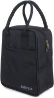ADIRSA LB3001 Black Waterproof Lunch Bag(Black, 3 L)