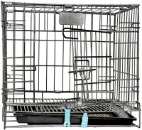 Naaz Pet Naaz Two Door Folding Dog CAGE 24'' Dog Cage