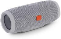 OUD Charge-3+ POWERFUL SOUND WATERPROOF Portable Wireless Bluetooth splash proof Speaker high Bass Premium 40 W Bluetooth  Speaker(Grey, Stereo Channel)