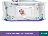 Himalaya Gentle Baby Wipes(2 Wipes)